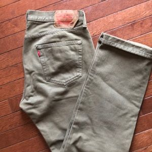 Levi's 501 button fly 34x32